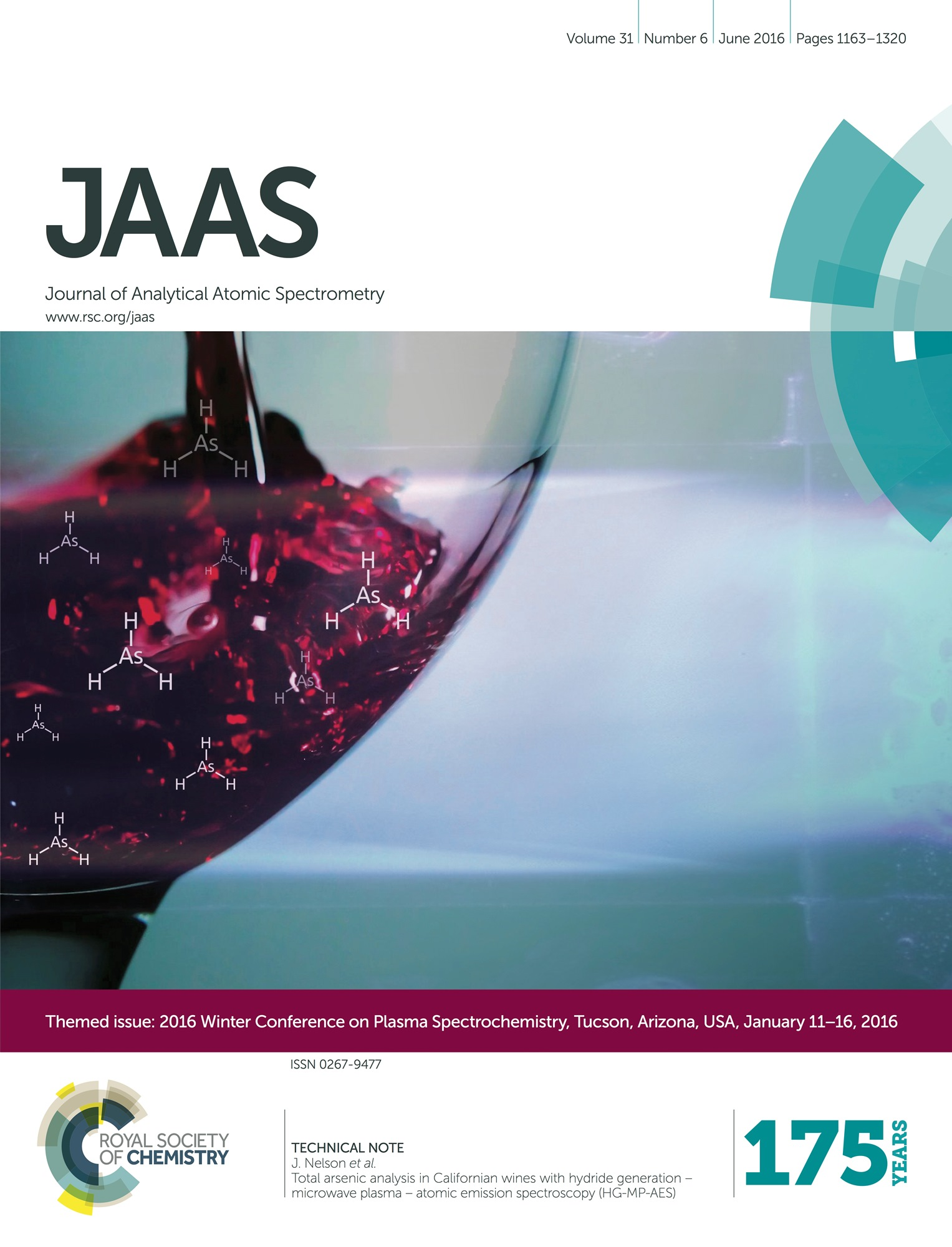 JAAS Tanabe et al 2016 front cover